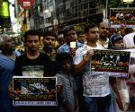 Vivekananda Flyover collapse - candle light vigil