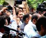 Rahul joins Ex- servicemen to press for OROP