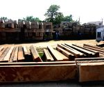 File Photos: Construction material for Ram temple