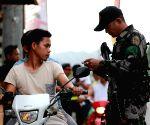 PHILIPPINES COTABATO CITY BOL SECURITY