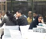 Delhi Assembly elections 2020 - Counting of votes underway at Laxmi Nagar Counting center