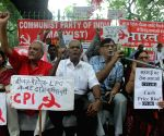 Bharat Bandh' -  CPI demonstration