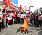 CPI (M)'s demonstration against PM Modi