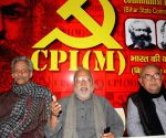 CPI-M's Awadhesh Kumar addresses press conference
