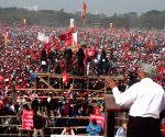 Left Front rally - Sitaram Yechury