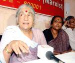 Subhashini Ali's press conference