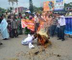 CPI(M) protest against Mamata Banerjee