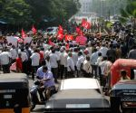 CPI-M demonstration against demonetisation