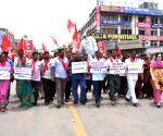 CPI-M demonstration against hike in power tariff