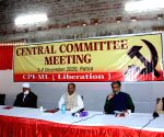 Dipankar Bhattacharya addresses the Central Committee meeting of CPI-ML