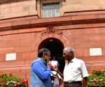 Parliament - D. Raja, Anand Sharma
