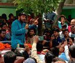 Begusarai (Bihar): 2019 Lok Sabha elections - Kanhaiya Kumar during poll campaign