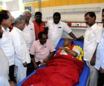 Kunamaneni Sambasiva Rao on indefinite hunger strike, hospitalised