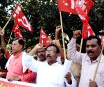 CPI demonstration against hike in electricity tariff