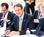 SWITZERLAND CRANS MONTANA CYPRUS PEACE TALKS