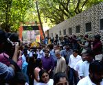 Funeral procession of Ramakant Achrekar