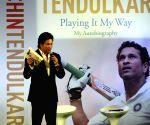 Sachin Tendulkar launches his autobiography