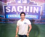 "Sachin Tendulkar launches game - ""Sachin Saga Cricket Champions"