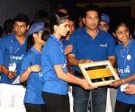 """Sachin Tendulkar launches National CSR Campaign """"Shuddh Paani - Swastha Bharat"""""""