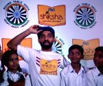 Ajinkya Rahane during a promotional programme