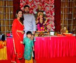 Harbhajan Singh celebrates Ganesh Chaturthi