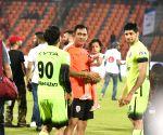 "Celebrity Clasico 2017"" football match - Mahendra Singh Dhoni, Ziva Dhoni and Sidharth Malhotra"