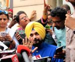 Navjot Singh Sidhu press conference