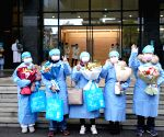 CHINA WUHAN CORONAVIRUS CURED PATIENTS