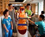CHINA HAINAN HAIKOU ROBOT WAITER