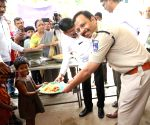 Cyberabad Police Commissioner during 'Dignity Drive