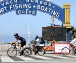 U.S.-LOS ANGELES-FOURTH OF JULY HOLIDAY-COVID-19