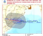 Cyclone Gulab makes landfall, heavy rains likely in several places