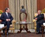 Cyprus President Nicos Anastasiades meets President Mukherjee
