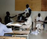 SENEGAL DAKAR PRESIDENTIAL ELECTION BALLOT COUNTING