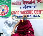 Dalai Lama takes first dose of coronavirus vaccine
