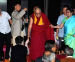 Dalai Lama during a programme at Presidency University