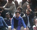 Jignesh Mevani during Hunkar rally