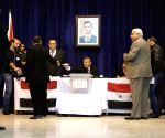 SYRIA DAMASCUS PARLIAMENTARY ELECTIONS