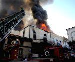SYRIA DAMASCUS FIRE