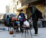 SYRIA DAMASCUS ISLAM ARMY REBELS EVACUATION