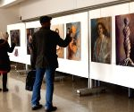 SYRIA DAMASCUS PAINTING EXHIBITION GENDER BASED VIOLENCE