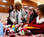 SYRIA DAMASCUS CHRISTMAS BAZAAR