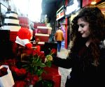 SYRIA DAMASCUS VALENTINE'S DAY