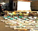 SYRIA DAMASCUS CONFISCATED WEAPONS