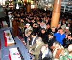 SYRIA DAMASCUS BOMBING VICTIMS SOLDIERS FUNERAL