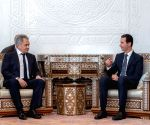 SYRIA-ASSAD-RUSSIA-DEFENSE-MINISTER-MEETING