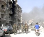 SYRIA DAMASCUS IS FINAL DEFEAT