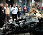 SYRIA HOMS BOMB ATTACK