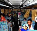 SYRIA DAMASCUS LEBANON REFUGEES RETURNING