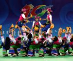 CHINA ORDOS NATIONAL ETHNIC GAMES PERFORMANCE